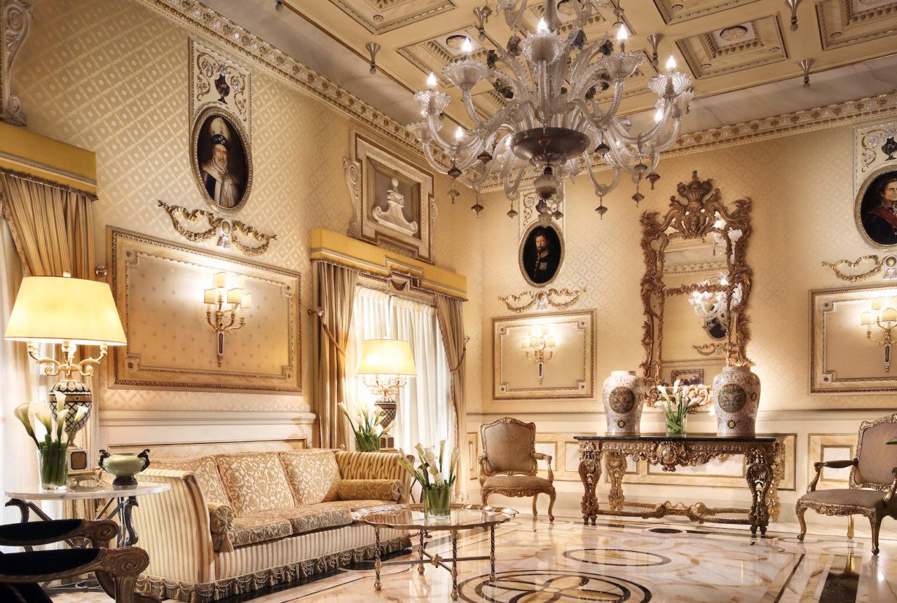 Hotel Splendide Royal Where Rome